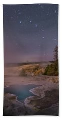 The Big Dipper In Yellowstone National Park Bath Towel