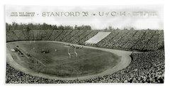 Stanford And U Of C 1925 Hand Towel by Jon Neidert