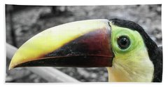 The Big Toucan Bath Towel