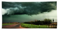 The Birth Of A Funnel Cloud Hand Towel