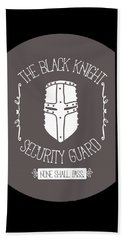 The Black Knight Bath Towel