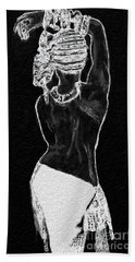 The Black Women's Struggle Hand Towel
