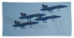 The Blue Angels Bath Towel