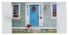 The Blue Door Hand Towel
