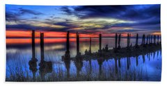 The Blue Hour Comes To St. Marks #2 Hand Towel