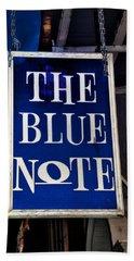 The Blue Note - Bourbon Street Bath Towel