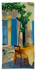 The Blue Shutters Hand Towel