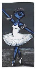 The Blue Swan Hand Towel