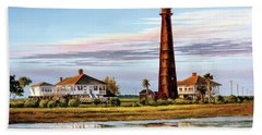 The Bolivar Lighthouse Hand Towel