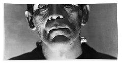 The Bride Of Frankenstein Bath Towel