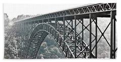 The Bridge B/w Hand Towel