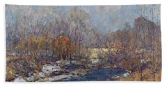 The Bridge  Garfield Park  By William J  Forsyth Bath Towel