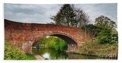 The Bridge Bath Towel by Isabella F Abbie Shores FRSA