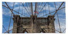 The Brooklyn Bridge Hand Towel