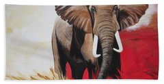 Win Win - The  Bull Elephant  Hand Towel