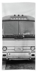The Bus To Laredo Hand Towel