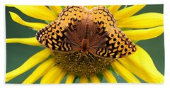 The Butterfly Effect Bath Towel by Tina  LeCour