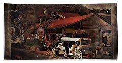 The Carriage Bath Towel by Bob Pardue