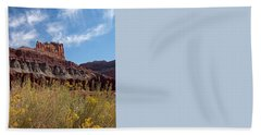 Rock Formation Capital Reef Hand Towel