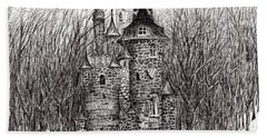 The Castle In The Forest Of Findhorn Hand Towel