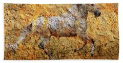 The Cave Painting Bath Towel
