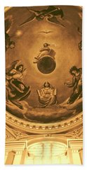 The Ceiling Of Notre Dame University Hand Towel by Dan Sproul