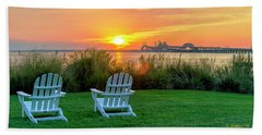 The Chesapeake Hand Towel by Brian Wallace