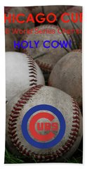 The Chicago Cubs - Holy Cow Bath Towel
