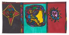The Choice Hand Towel by Darrell Black