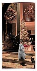 The Christmas Carol Bath Towel by Chambers and  De Forge