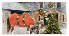 The Christmas Star Hand Towel