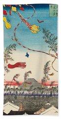 The City Flourishing, Tanabata Festival Hand Towel