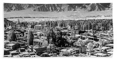 The City Of Leh, From The Rooftops To Bath Towel