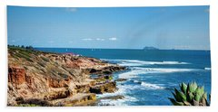 The Cliffs Of Point Loma Bath Towel