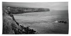 Hand Towel featuring the photograph The Coast Of Terceira by Kelly Hazel