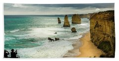 Bath Towel featuring the photograph The Coast by Perry Webster