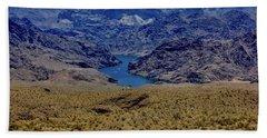 The Colorado River  Hand Towel