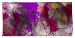 The Colorful Bustier Painting Bath Towel