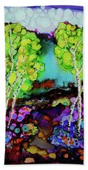The Colors Of Colorado Hand Towel