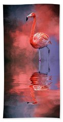 The Colors Of My World Hand Towel by Cyndy Doty