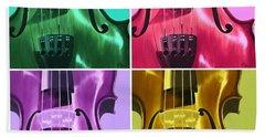 The Colors Of Sound Bath Towel
