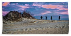 The Colors Of Sunset Bath Towel
