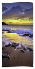 Bath Towel featuring the photograph The Colour Of Molokai Nights by Tara Turner