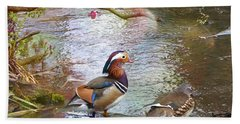 Bath Towel featuring the photograph The Colours Of Spring by LemonArt Photography