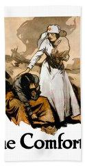 The Comforter - World War One Nurse Hand Towel