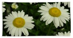 The Common Daisy Hand Towel
