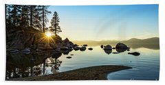 The Cove At Sand Harbor Bath Towel