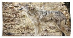 The Coyote Howl Hand Towel