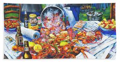 The Crawfish Boil Hand Towel