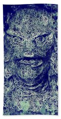 Creature From The Black Lagoon Hand Towel